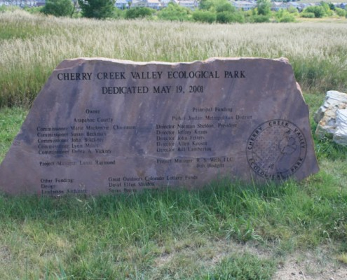 Cherry Creek Eco Park Memorial