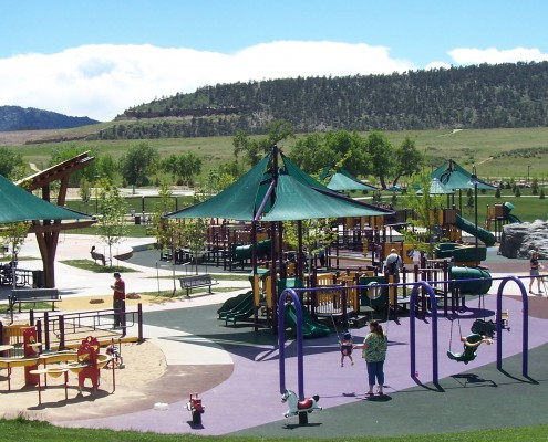 Spring Canyon Park Fort Collins, ECI Site Construction