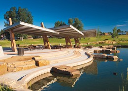 Utah Park, Park and Flood Control Improvements